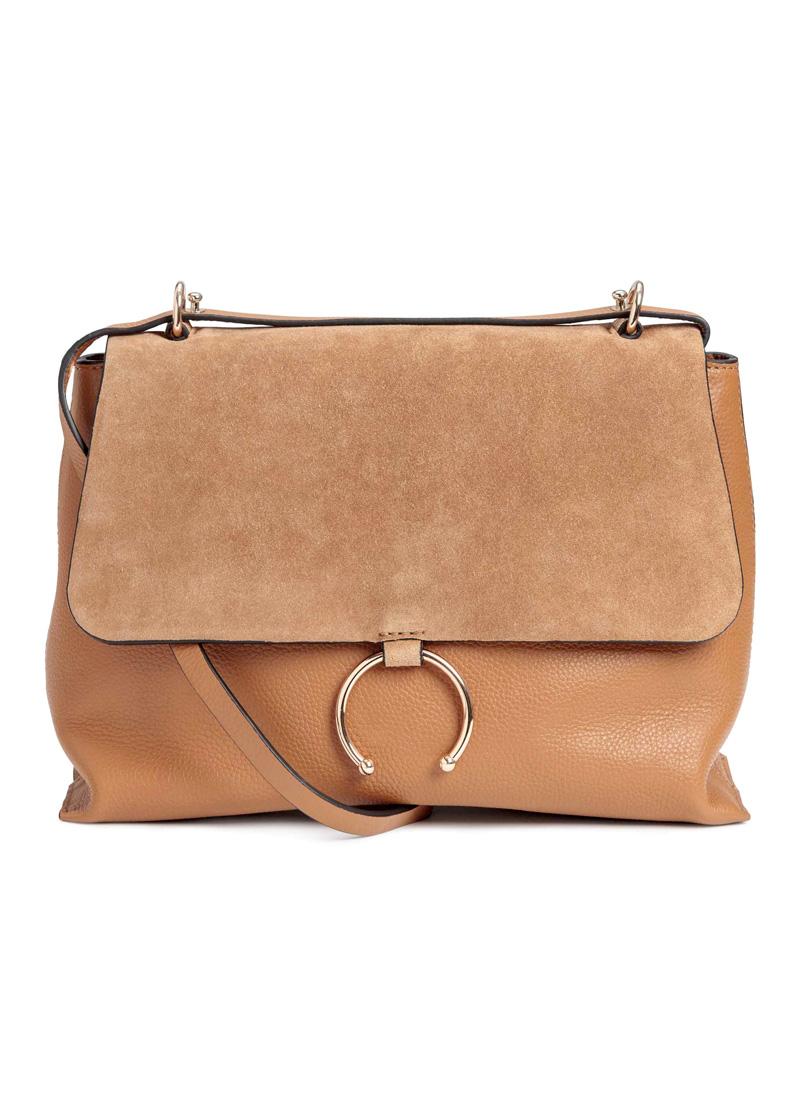Wildledertasche von H&M