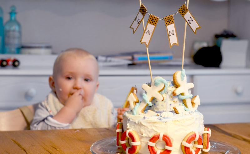 Backen zum 1. Geburtstag