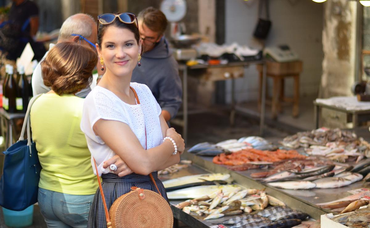 Sizilien 12 Tage Rundreise Syracus Markt
